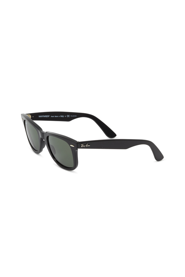 RB2140 Black Wayfarer Polarized Sunglasses
