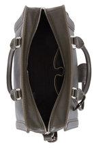 Alexander McQueen - Padlock Military Green Leather Small Satchel