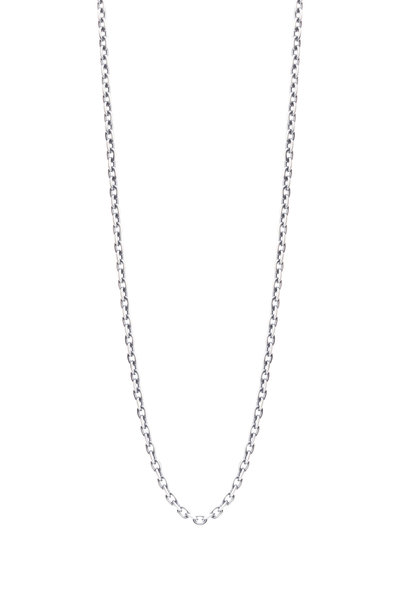 Sylva & Cie - Sterling Silver Oxidized Chain