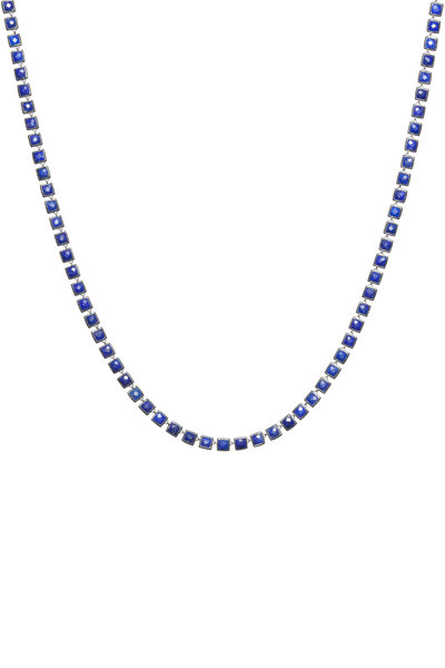 Nak Armstrong - Sterling Silver Lapis Necklace