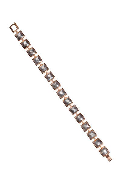 Nak Armstrong - 18K Rose Gold Tourmalated Quartz Bracelet