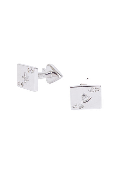 Robin Rotenier - Sterling Silver Ace Card Cuff Links