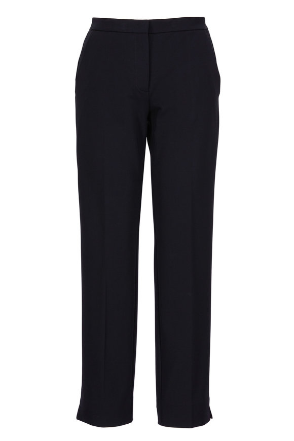 Derek Lam Drake Black Stretch Jersey Pants