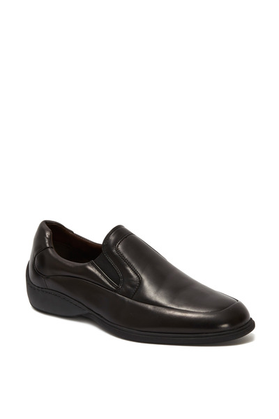 Bruno Magli - Infano Black Leather Slip-On Loafer