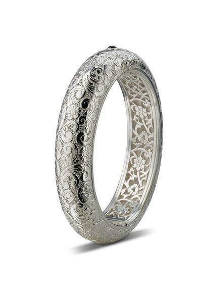 Monica Rich Kosann - Sterling Silver Thin Cuff Bracelet