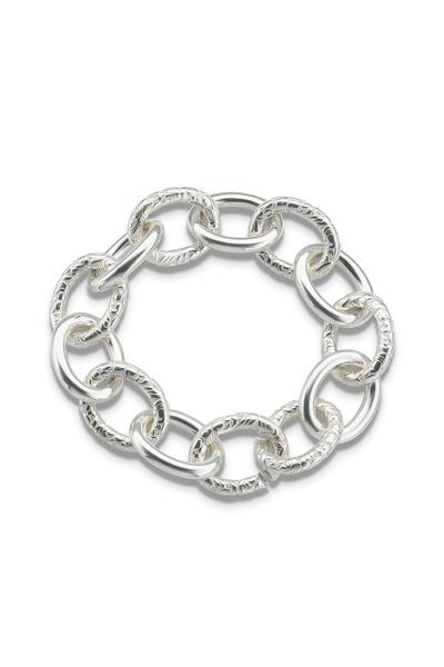 Monica Rich Kosann - Sterling Silver Link Bracelet, Extra Extra Large