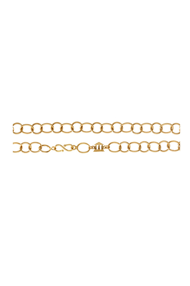 Arno Yellow Gold Link Necklace