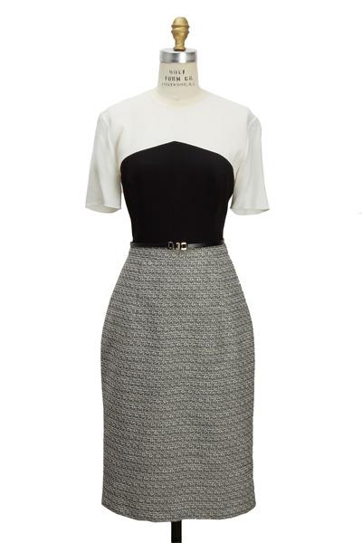 Jason Wu - Black & White Tweed Dress