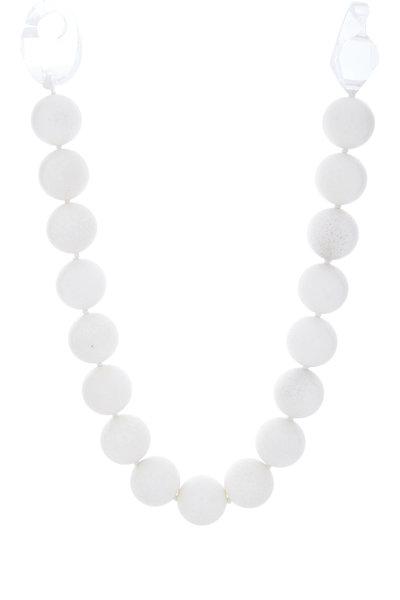 Patricia von Musulin - Lucite Coral Bead Necklace