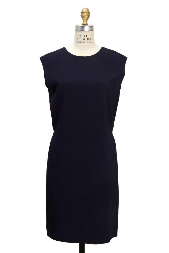 Vania Blueberry Cady Dress