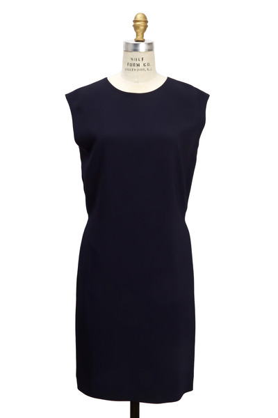 The Row - Vania Blueberry Cady Dress