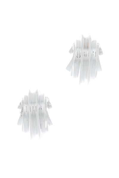 Patricia von Musulin - Sterling Silver Tiny Sea Sound Earrings