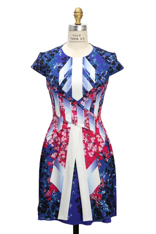 Mora Multicolored Cap Sleeve Dress