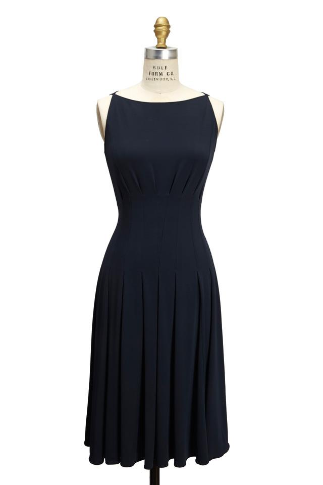 Navy Blue Jersey Dress