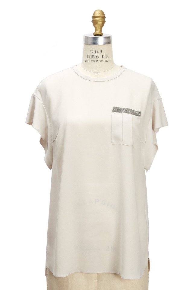 Vanilla Silk Monili T-Shirt