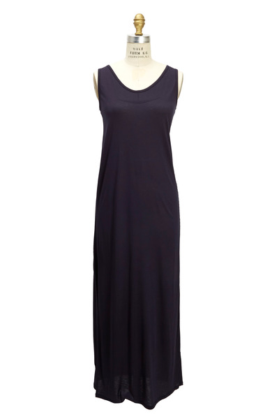 The Row - Emmy Blueberry Jersey Dress