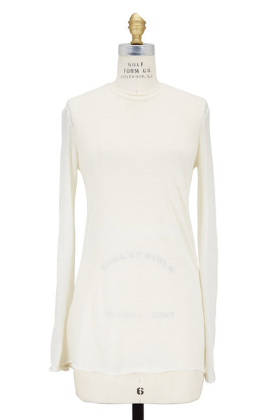 The Row - Helene Natural Cashmere Crewneck Sweater