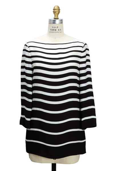 Ralph Lauren - Linette Black & White Cady Tunic