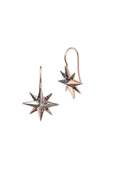 Kwiat - Pink Gold Diamond Mollie Faith Earrings