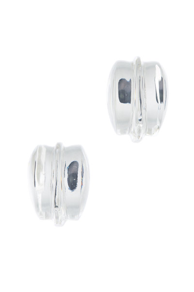 Patricia von Musulin - Sterling Silver Lucite Picasso Earrings