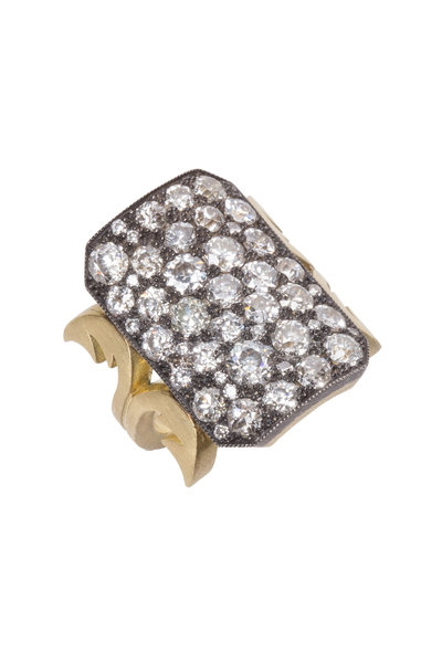 Sylva & Cie - Yellow Gold Diamond Ring