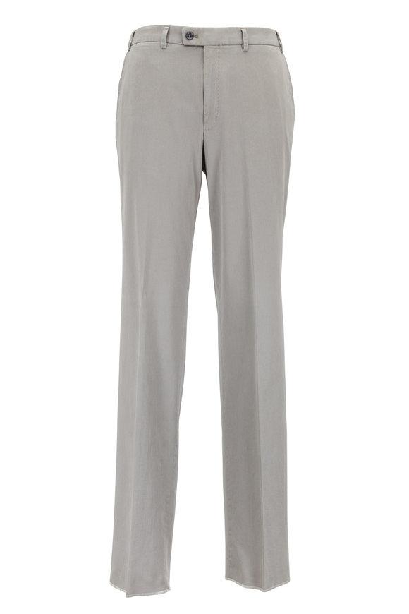 Hiltl Dayne Taupe Cotton Twill Pants