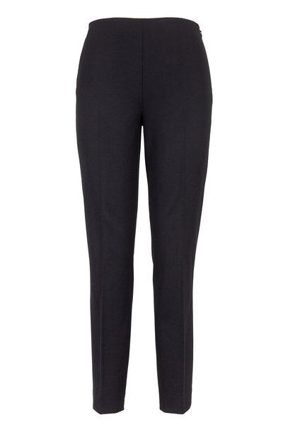 Ralph Lauren - Annie Black Bi-Stretch Wool Pants
