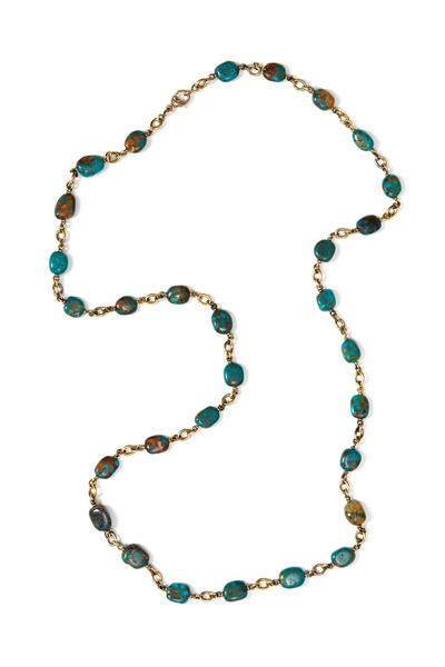 Sylva & Cie - Kingman Turquoise Beaded Necklace