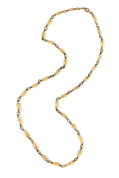 Sylva & Cie - Opal Beaded Necklace