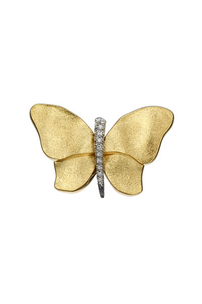 Aaron Henry - Gold Butterfly Pin