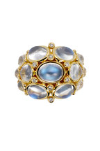 Temple St. Clair - 18K Yellow Gold Bombe Moonstone Ring