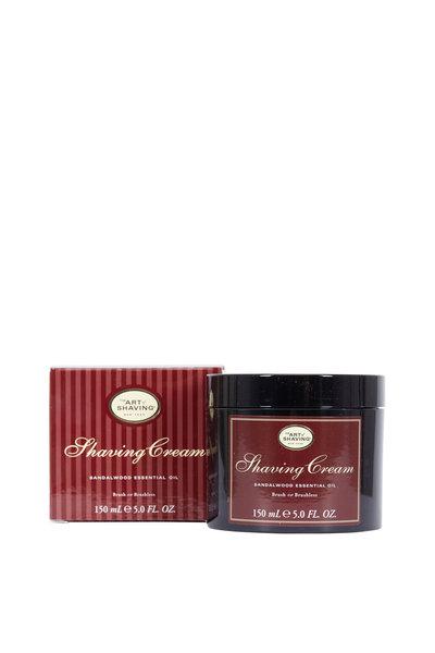 The Art of Shaving - Sandalwood Essential Oil Shaving Cream, 5.0 oz
