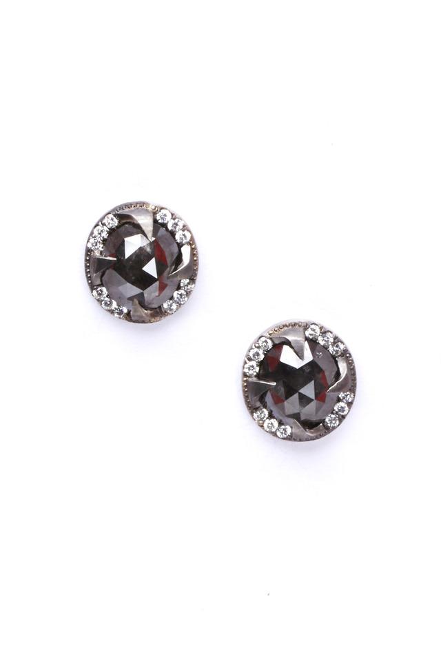 Rough Diamond Earrings