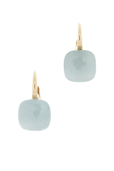 Pomellato - Nudo 18K Rose & White Gold Milky Aqua Earrings