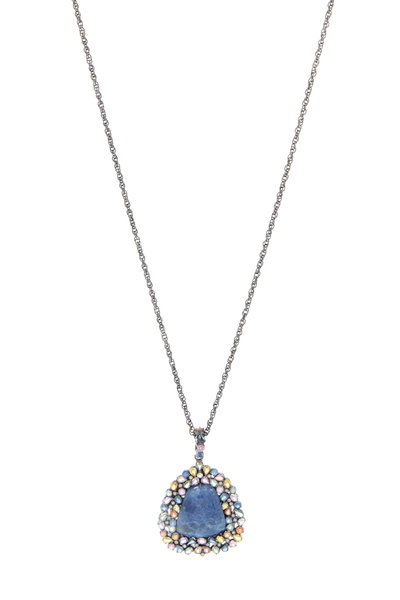 Loriann - Blue Sapphire Collection Necklace