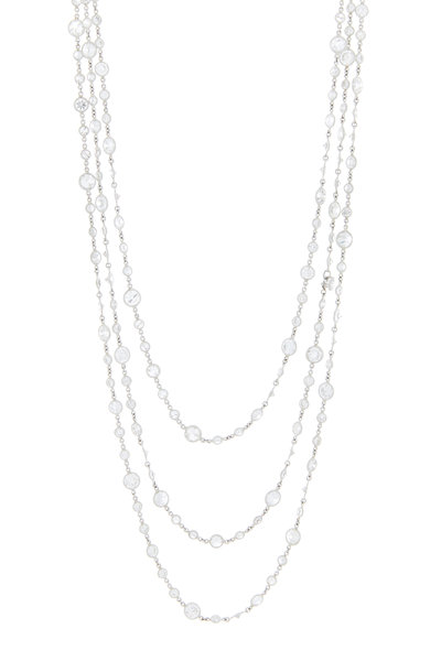 Eclat - Platinum Diamond Forever Necklace