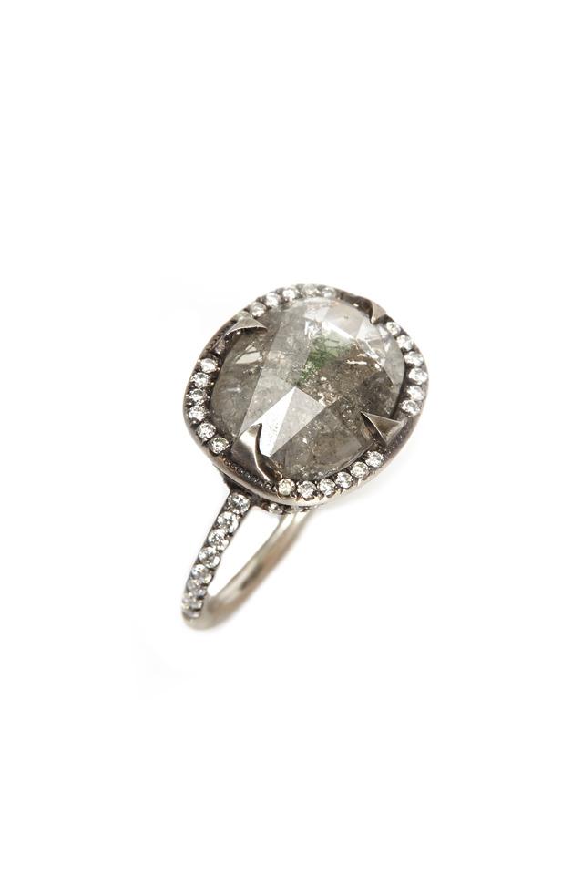 Platinum Diamond Ceci Ring