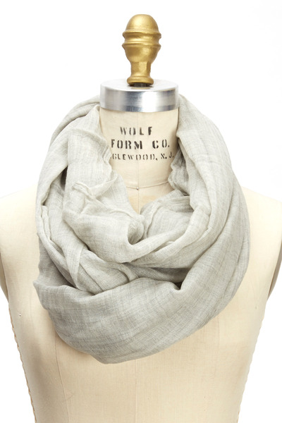 Brunello Cucinelli - Pearl Cashmere Felted Print Scarf
