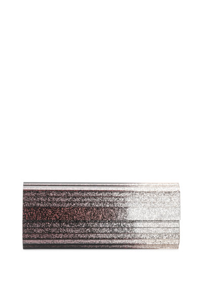 Jimmy Choo - Sweetie Black Champagne Acrylic Dégradé Clutch
