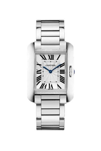 Cartier - Tank Anglaise Watch, Medium Model