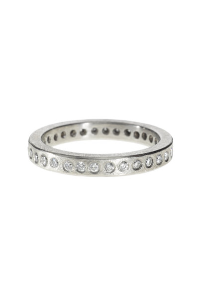 Todd Reed - Palladium Diamond Ring