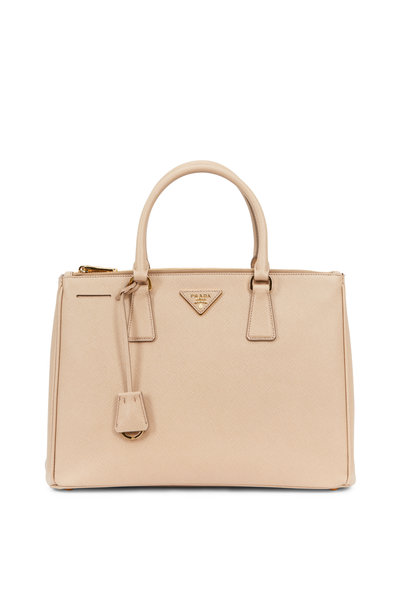 Prada - Caramel Saffiano Leather Medium Tote