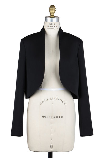 Lanvin - Black Wool Bolero Jacket