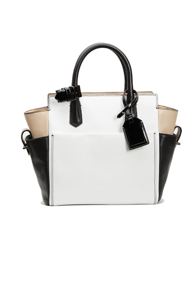 Reed Krakoff - Black, White And Nude Leather Handbag