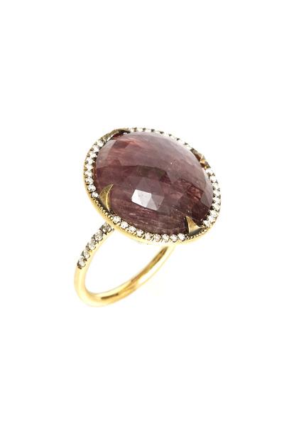 Sylva & Cie - Yellow Gold Sapphire Ring