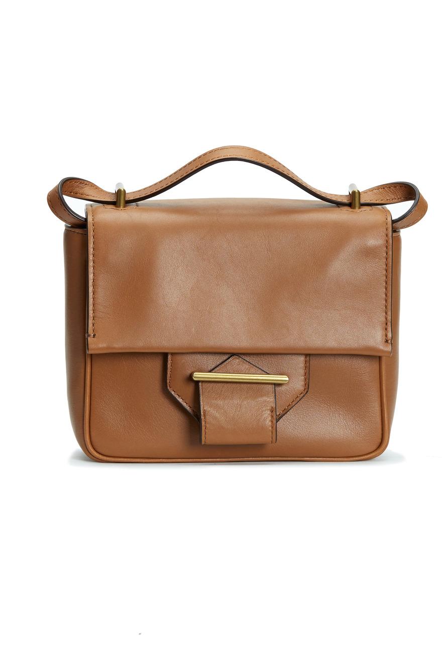 Saddle Leather Mini Shoulder Bag