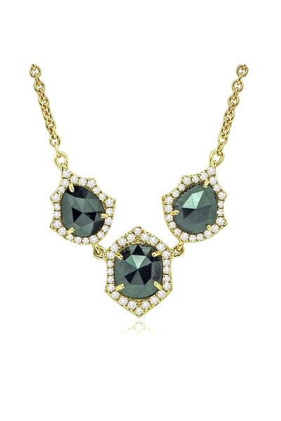 Sutra - Gold Rough Diamond Necklace