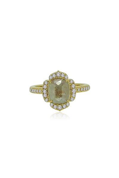 Sutra - Gold Rough Diamond Ring