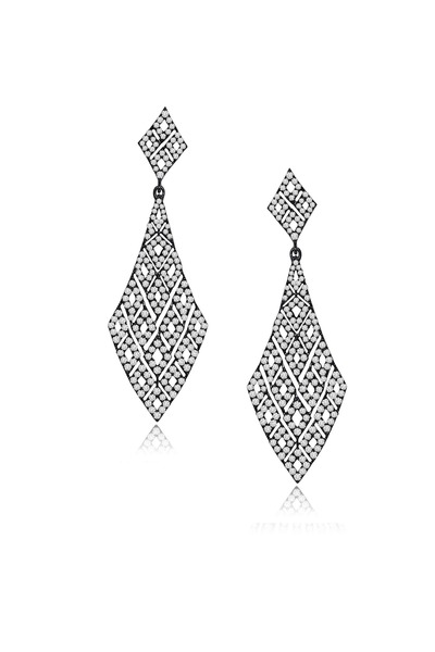 Sutra - Diamond Dangle Earrings