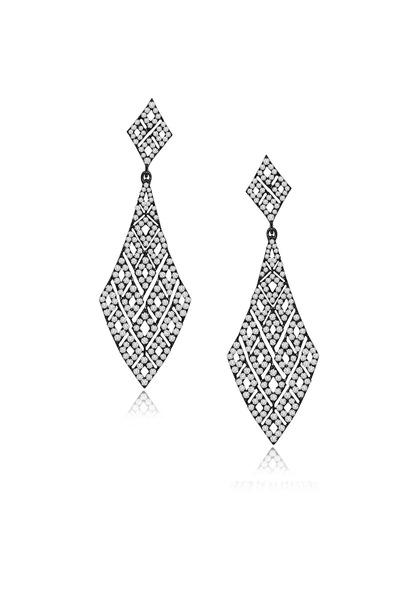 Sutra - Diamond Dangle Earrings